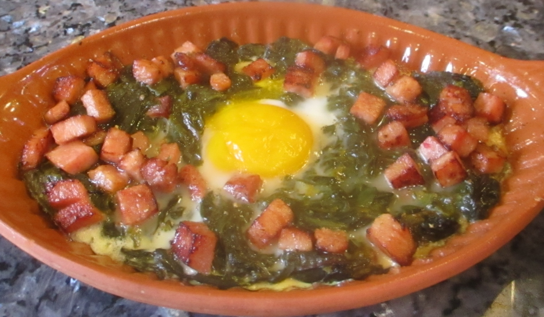 Greens, Eggs, & Ham Recipe