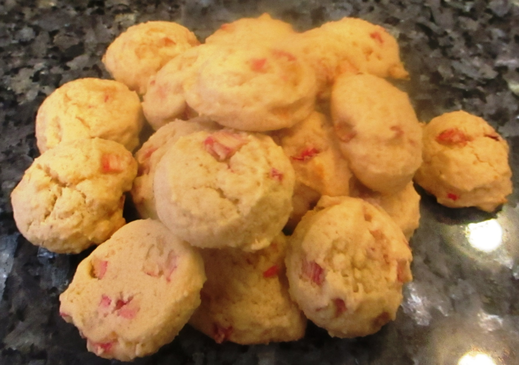 Rhubarb Lemon Cookies Recipe
