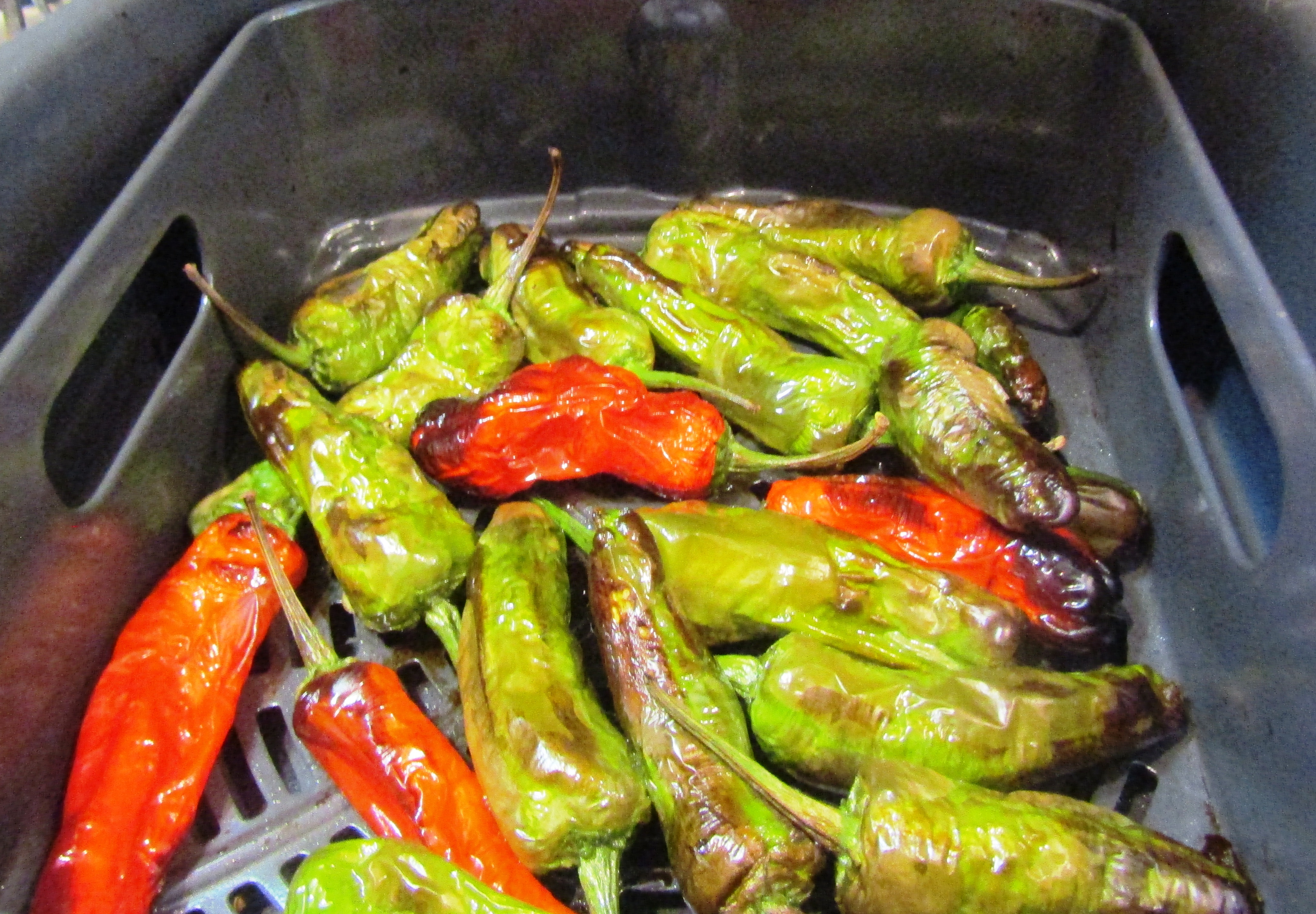 Air Fryer Blistered Shishito Peppers Recipe