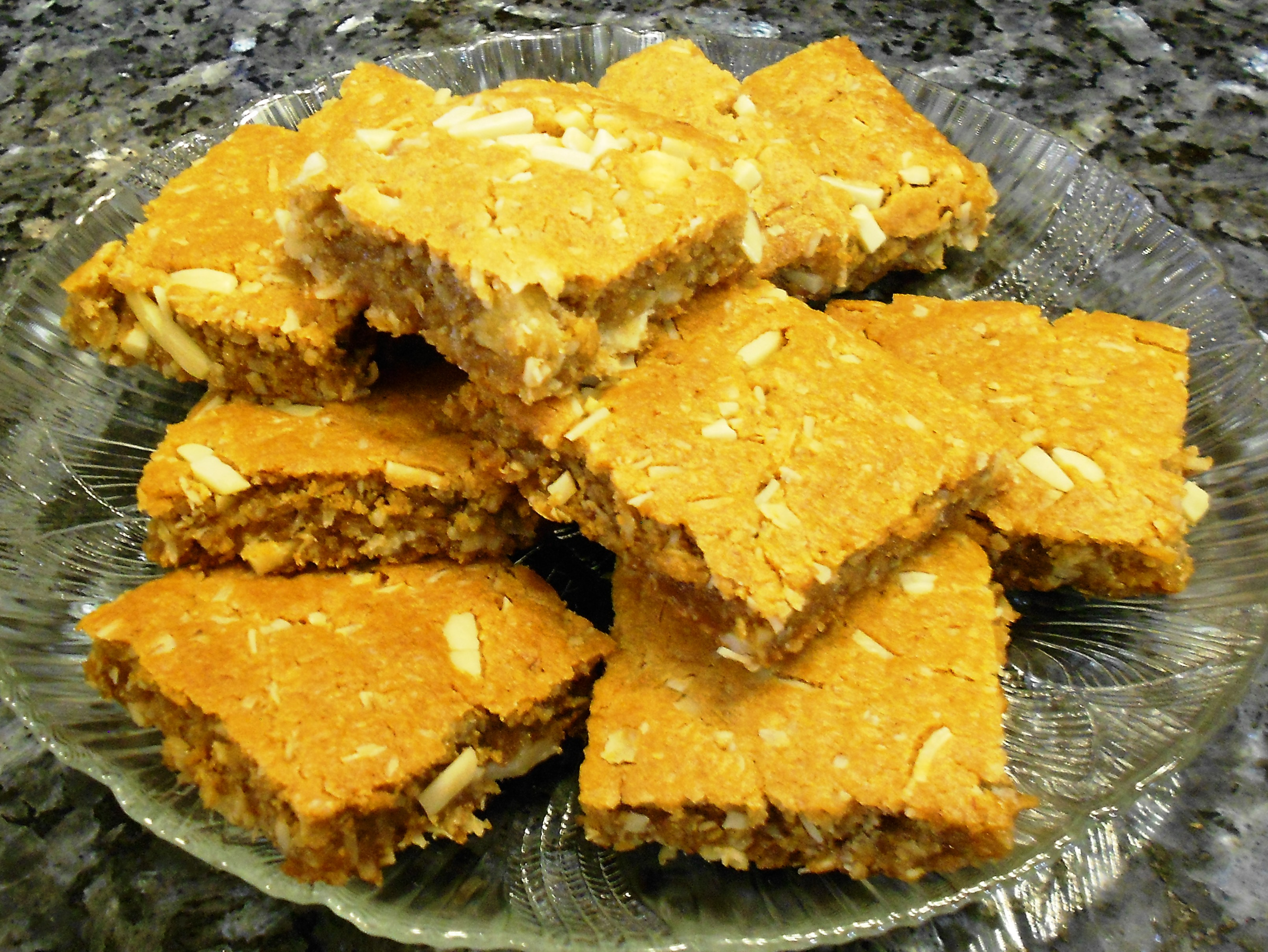 Recipe for Anzac Squares