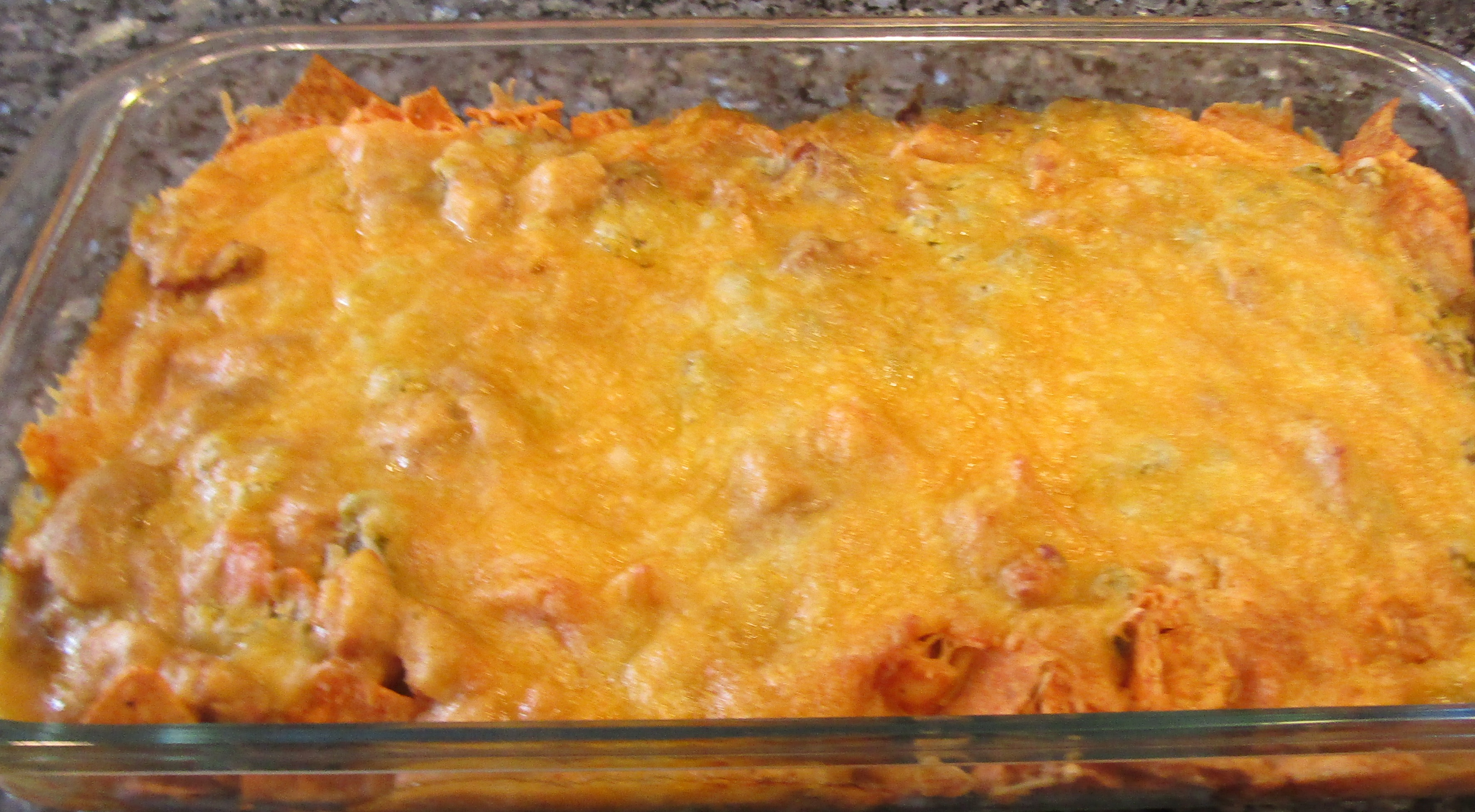 Green Chile Enchilada Bake Recipe