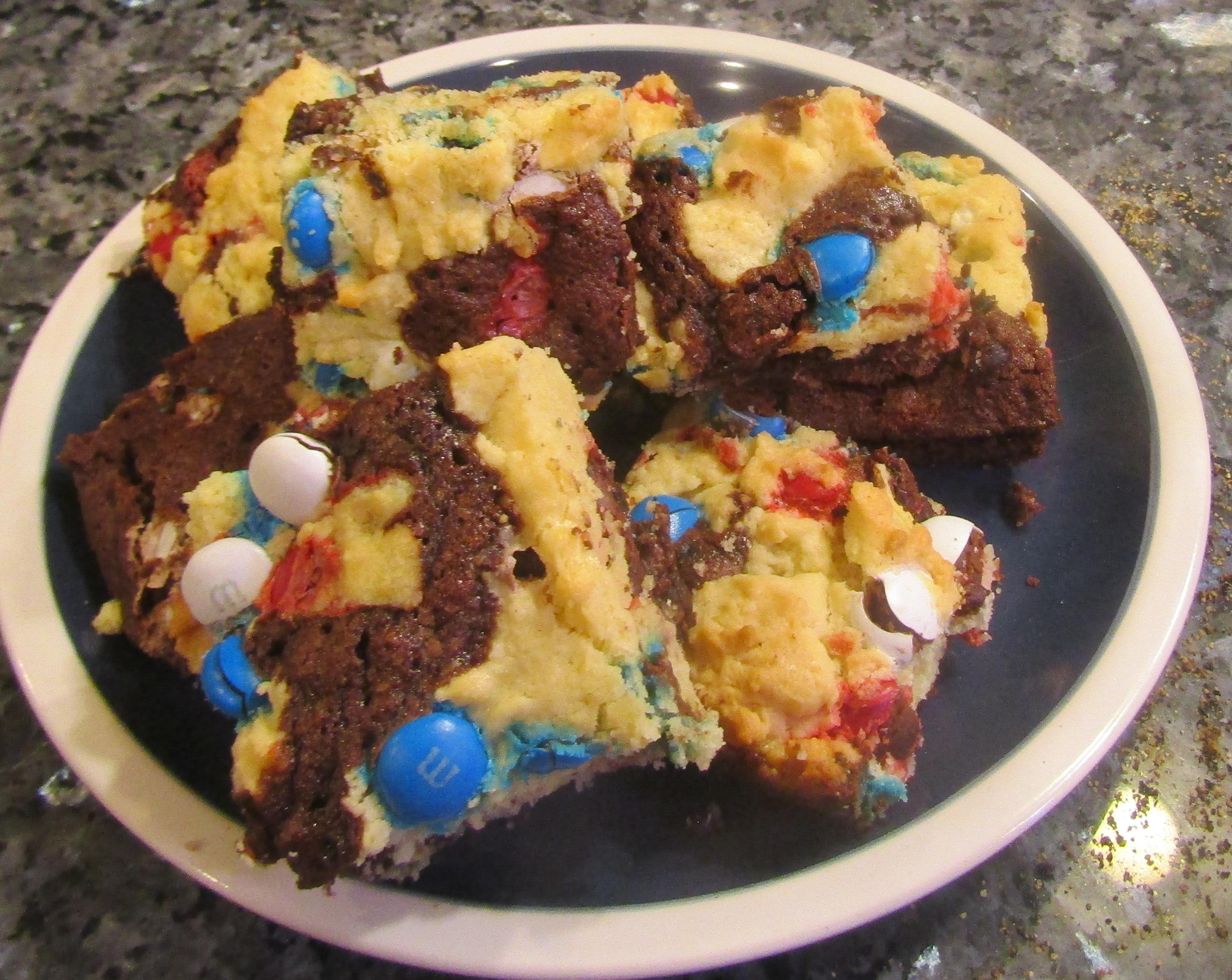 Patriotic Brookies Recipe