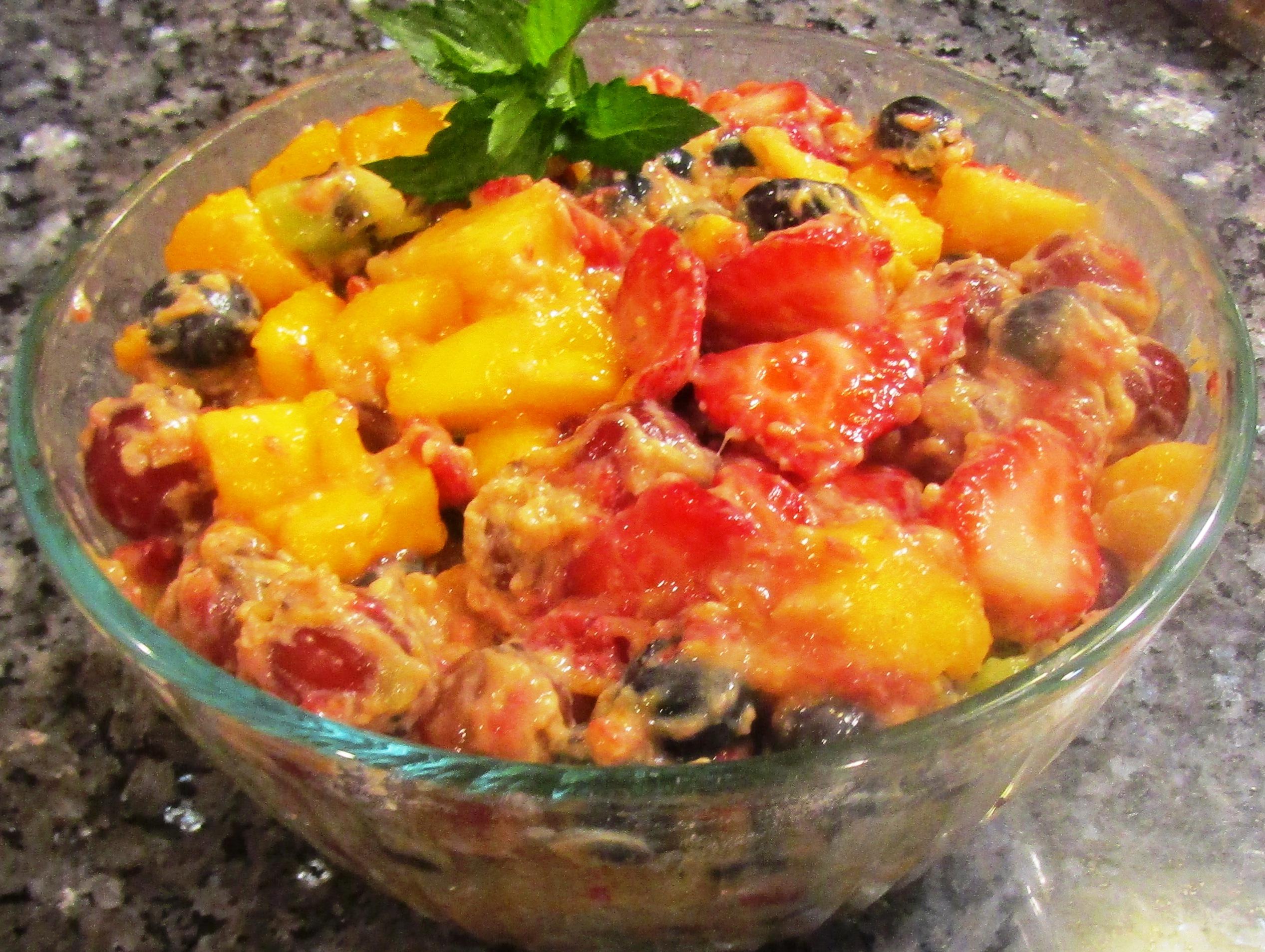 Quickie Fruit Salad Recipe